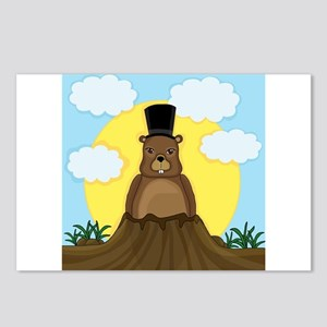 Groundhog day Postcards (Package of 8)