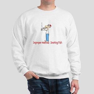 SMOKING FISH Sweatshirt