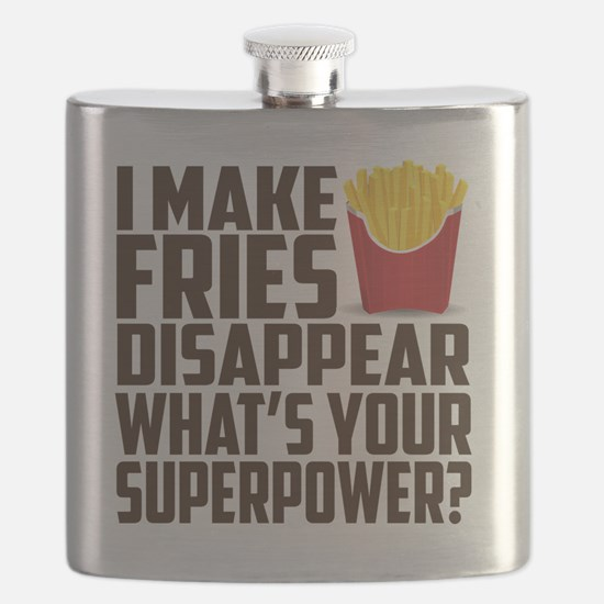 Cute French food Flask