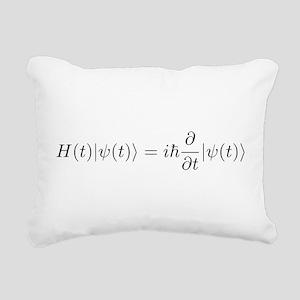 Schro Rectangular Canvas Pillow