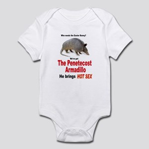The Pentecost Armadillo Infant Bodysuit