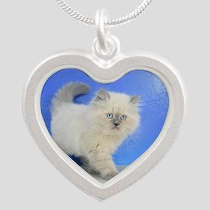 Cleopatra - Ragamuffin Kitten Blue Point Necklaces