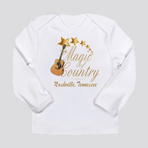 Nashville Magic of Country Long Sleeve T-Shirt