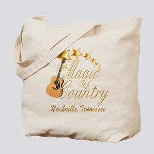 Nashville Magic of Country Tote Bag