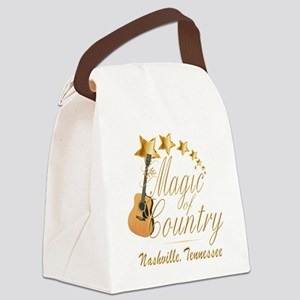 Nashville Magic of Country Canvas Lunch Bag