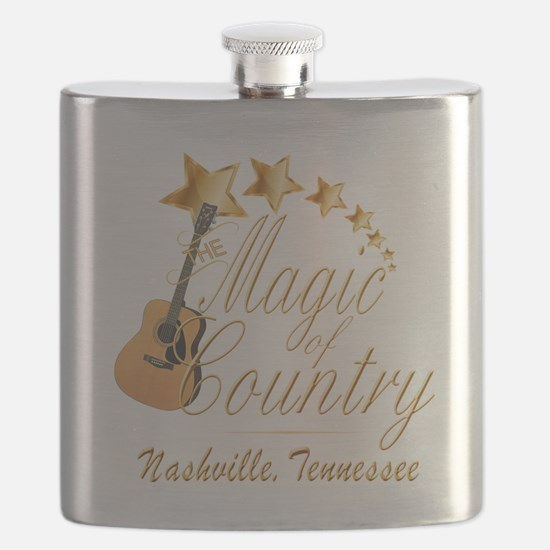 Nashville Magic of Country Flask