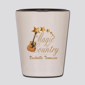 Nashville Magic of Country Shot Glass