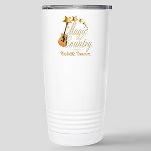 Nashville Magic of Coun Stainless Steel Travel Mug