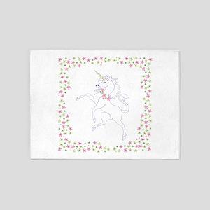 Classic Unicorn 5'x7'Area Rug