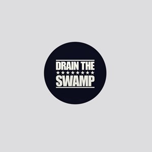 Drain the Swamp Mini Button