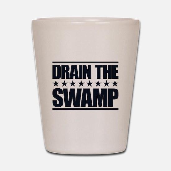 Drain the Swamp Shot Glass