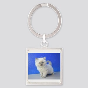 Kissy - Ragdoll Kitten Blue Point Keychains