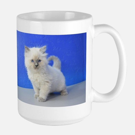 Kissy - Ragdoll Kitten Blue Point Mugs