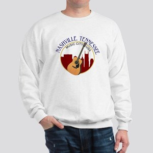 Nashville, TN Music City USA-RD Sweatshirt