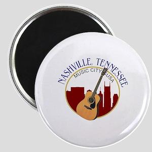 Nashville, TN Music City USA-RD Magnets