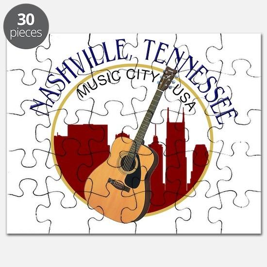 Nashville, TN Music City USA-RD Puzzle