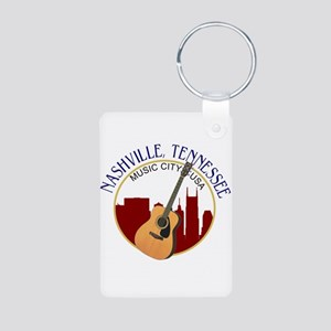 Nashville, TN Music City USA-RD Keychains