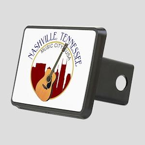 Nashville, TN Music City U Rectangular Hitch Cover