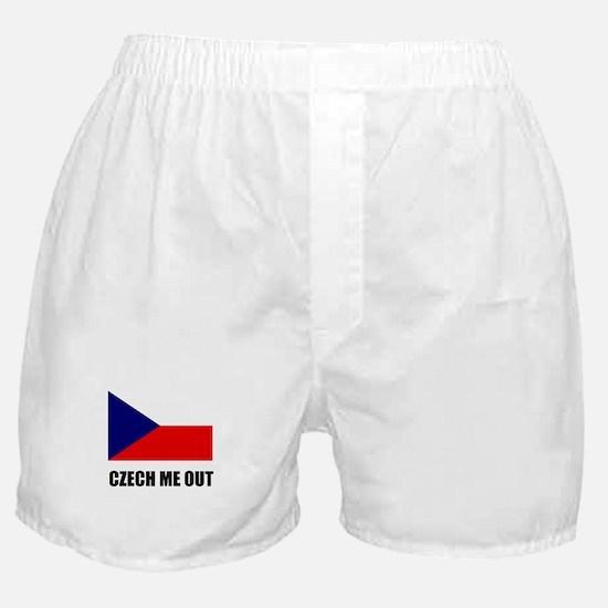 Czech Me Out Boxer Shorts