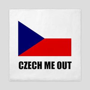 Czech Me Out Queen Duvet