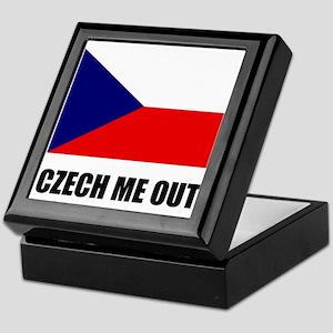 Czech Me Out Keepsake Box