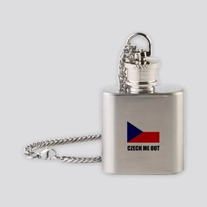 Czech Me Out Flask Necklace