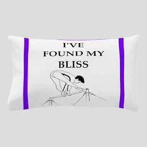 Woman gymnast Pillow Case