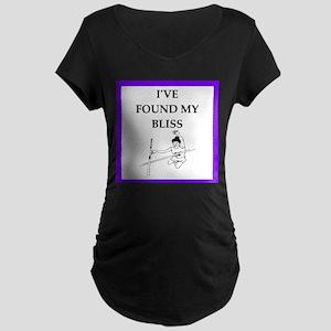 pole vaulting Maternity T-Shirt