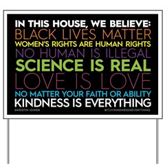#kindnessiseverything Yard Sign Expanded