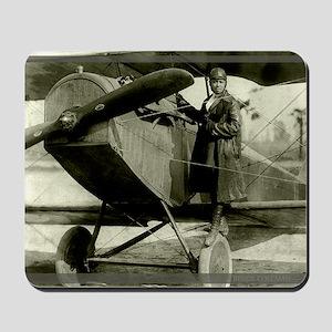 Bessie Coleman Civil Aviator Mousepad