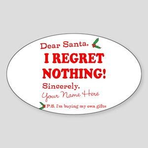Dear Santa Claus Sticker