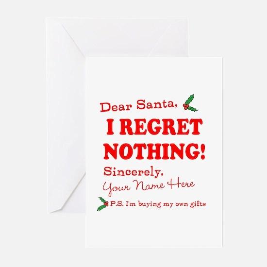 Santas naughty list santas naughty list stationery cards dear santa claus greeting cards m4hsunfo