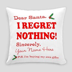 Dear Santa Claus Everyday Pillow