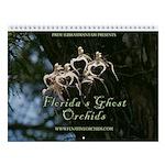 Florida Ghost Orchid Wall Calendar