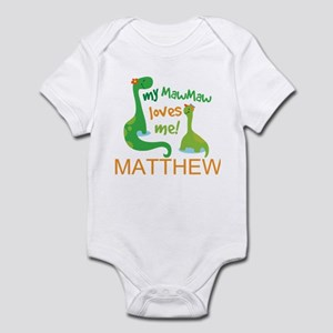 Mawmaw Loves Me Personalized Body Suit