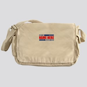 Vote For 2020 Customizable Messenger Bag
