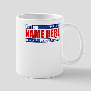 Vote For 2020 Customizable Mug