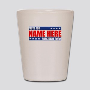 Vote For 2020 Customizable Shot Glass