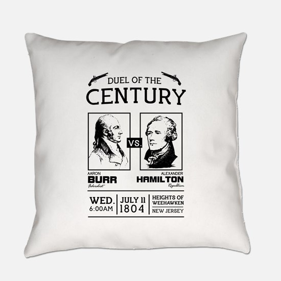 Burr-Hamilton Duel of the Century Everyday Pillow