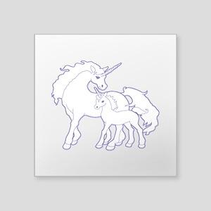 Unicorn and Baby Sticker