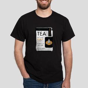 Earl Grey Personalized Dark T-Shirt
