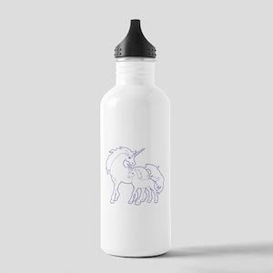 Unicorn and Baby Water Bottle