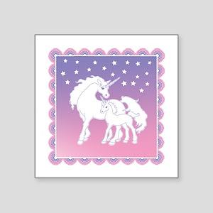 Stars and Unicorns Sticker
