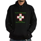 Medical cannabis Dark Hoodies