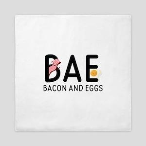 BAE Bacon And Eggs Queen Duvet