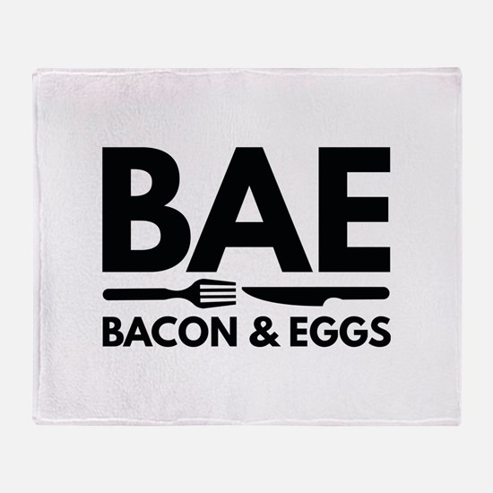 BAE Bacon And Eggs Stadium Blanket