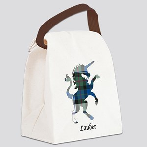 Unicorn-Lauder dress Canvas Lunch Bag