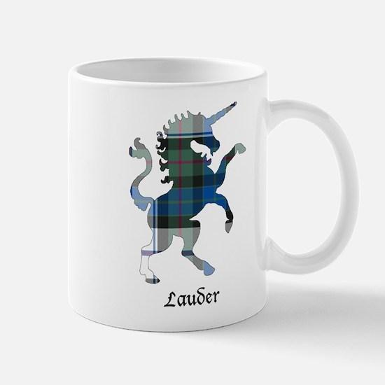 Unicorn-Lauder dress Mug