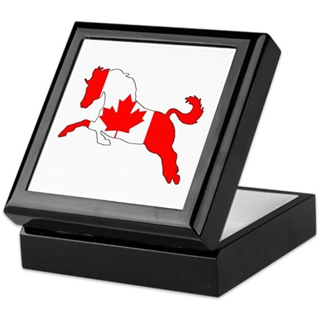 Canadian Horse Jewelry Boxes CafePress