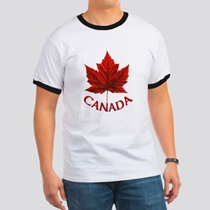 Canada Souvenir Gifts Maple Leaf Canada Da T-Shirt